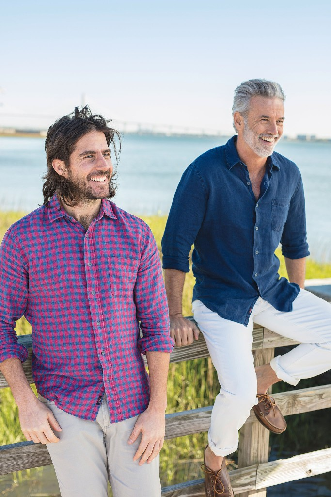 Looks from Faherty.