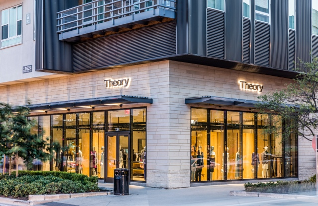 The new Theory store in Austin.