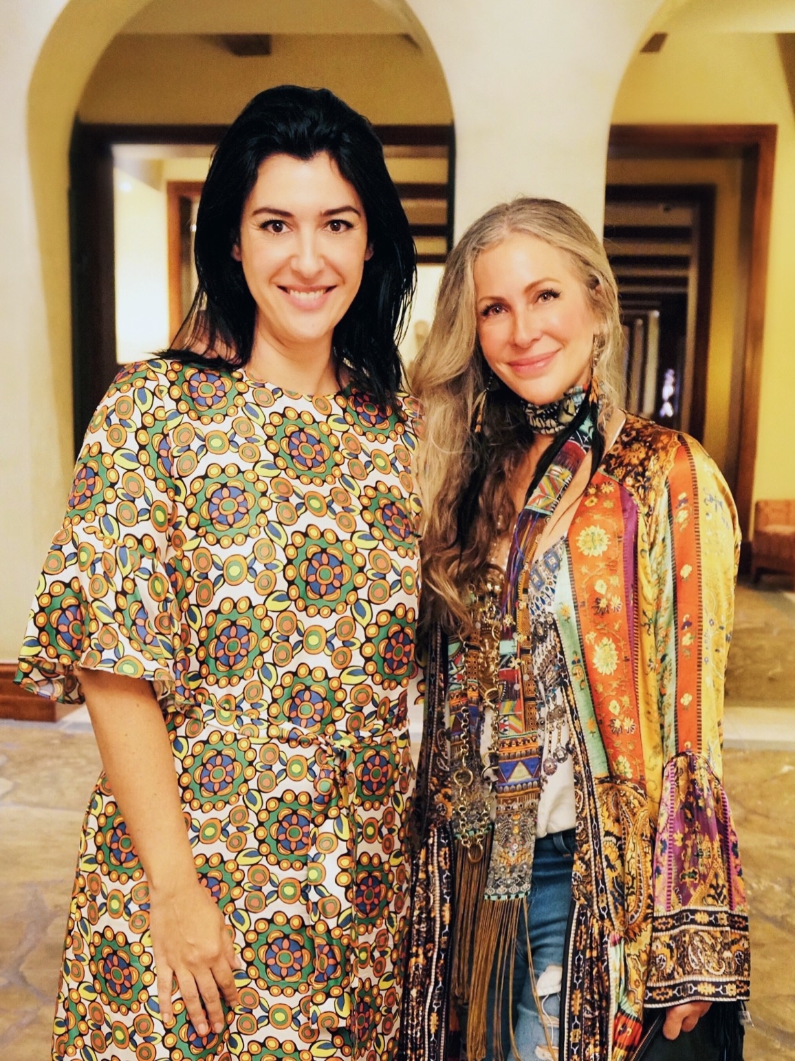 Andrea Somma and Carmen Busquets, co-founders of Omina, which is hosting a fashion and sustainability summit in Costa Rica in June 2018