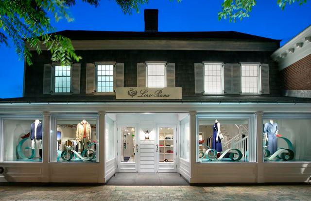 Loro Piana's East Hampton store.