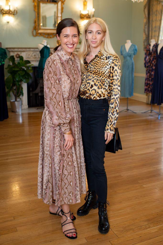 Emilia Wickstead and Sabine Getty