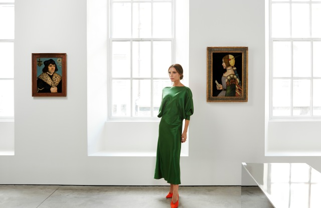 Victoria Beckham Partners with Sotheby's Old Masters