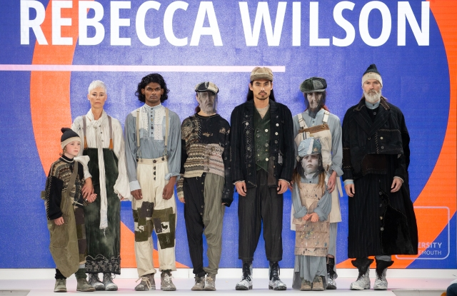 Rebecca Wilson's collection at London's Graduate Fashion Week