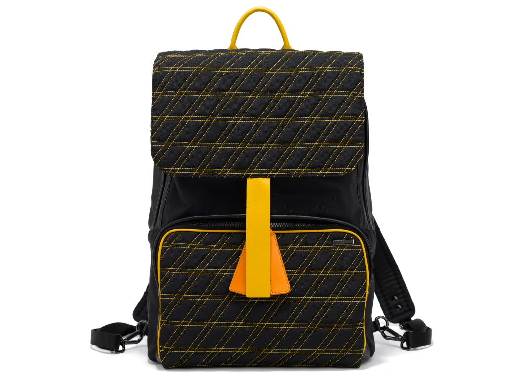 A Zanellato padded style backpack from the men's spring 2019 collection.