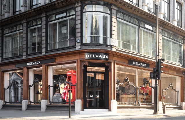 The New Delvaux store on New Bond Street