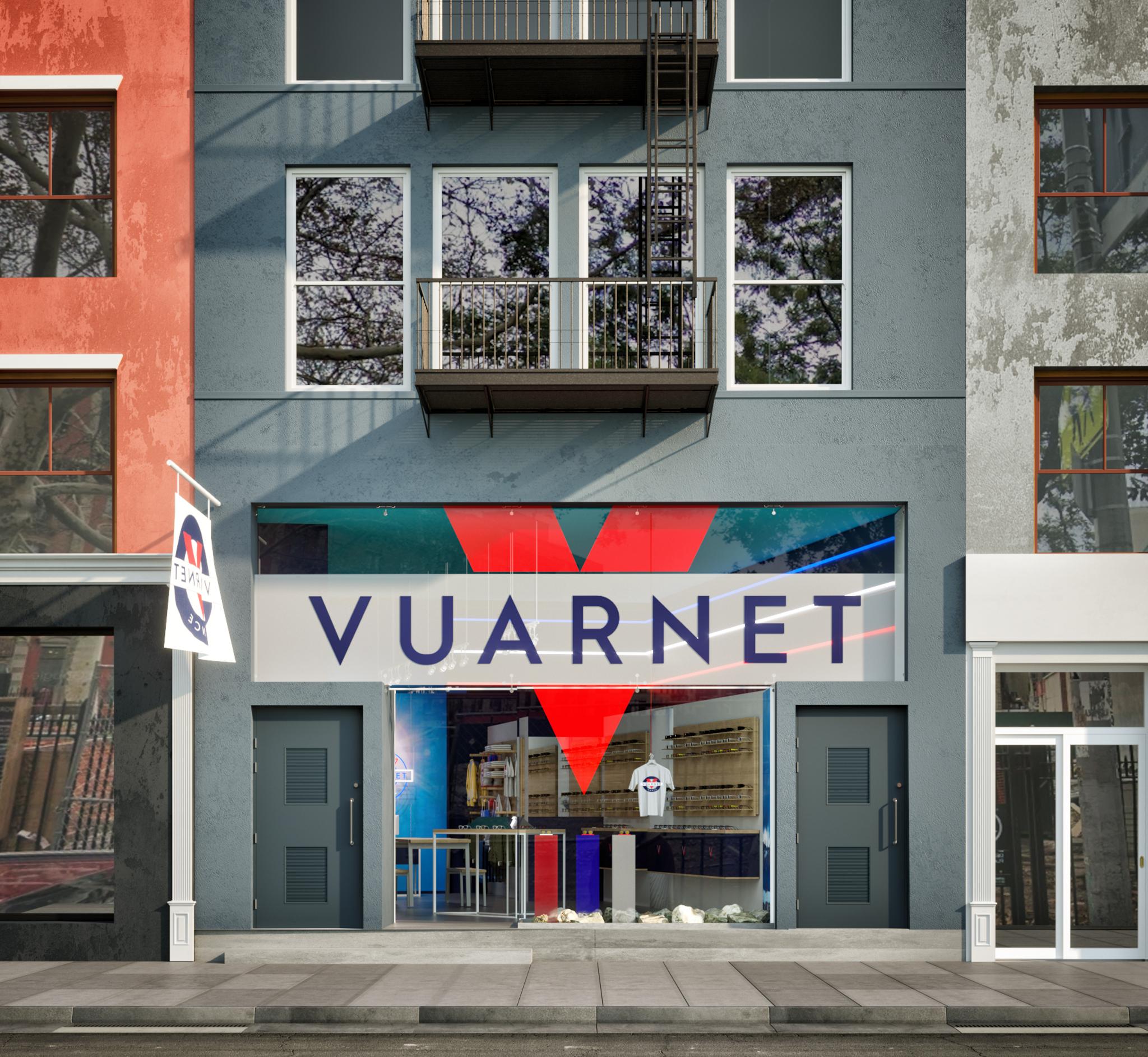 Rendering of New York Vuarnet Store