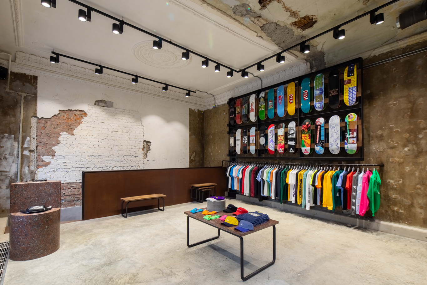 A view of the new Paccbet store
