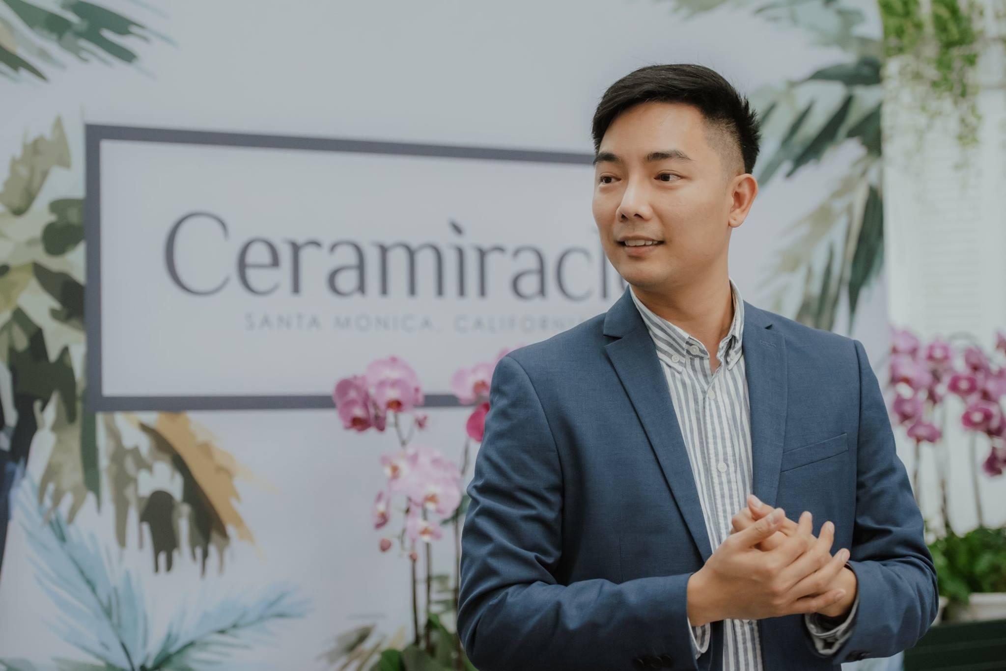 Eugene He, Ceramiracle founder