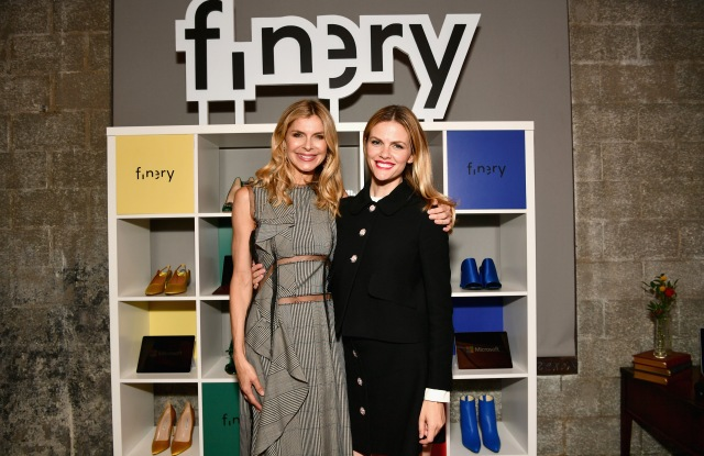 Finery Co-Founders Whitney Casey and Brooklyn Decker attend the Finery App launch party hosted by Brooklyn Decker at Microsoft Lounge on July 11, 2018 in Culver City, California. (Photo by Emma McIntyre/Getty Images for Finery) *** Local Caption *** Whitney Casey; Brooklyn Decker