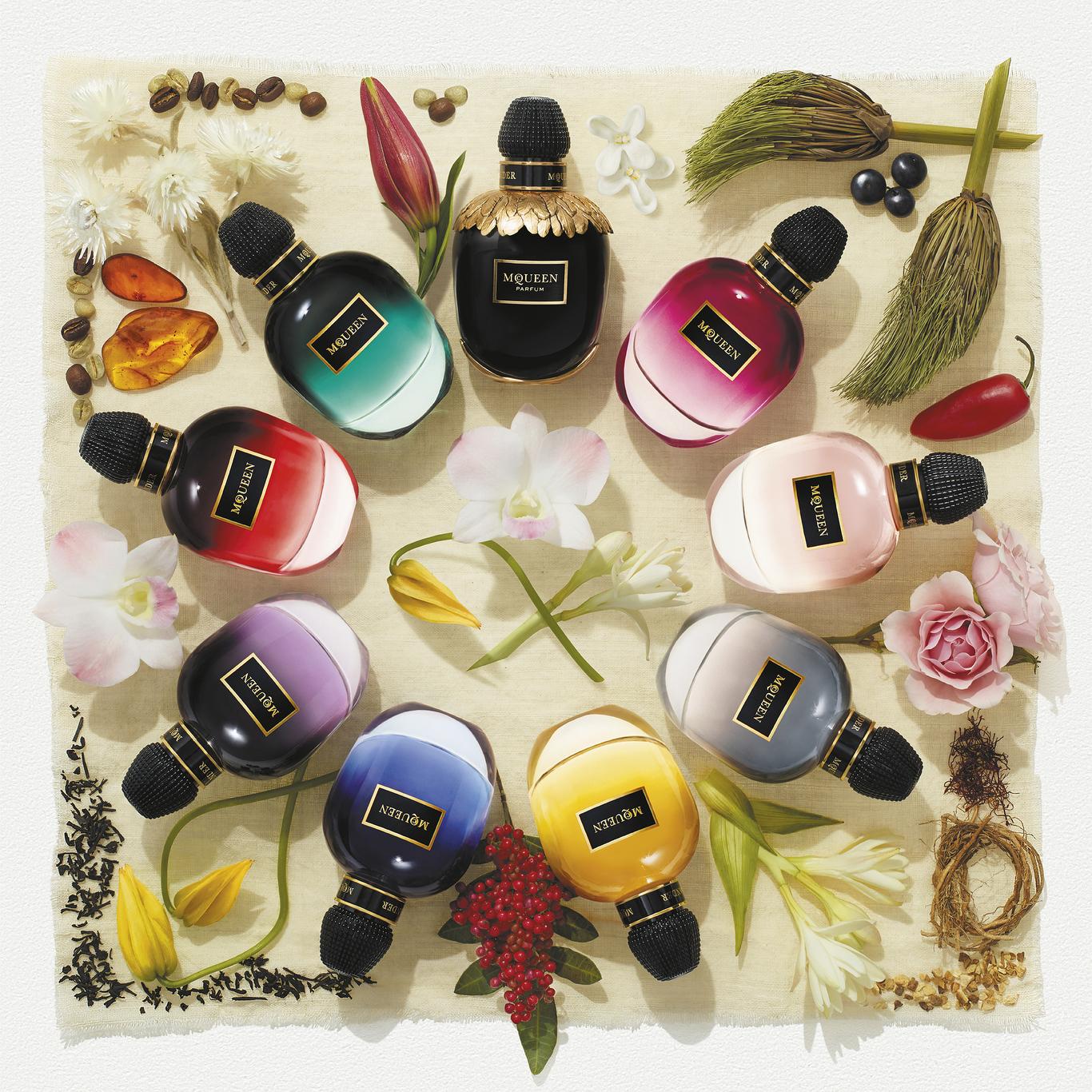 Alexander McQueen's New Collection of Eight Fragrances