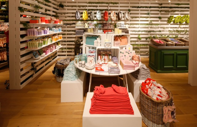 The Aerie concept store in New York.
