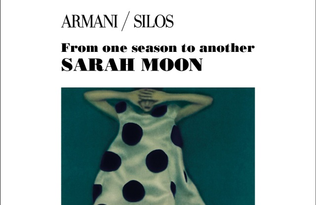 """The poster of """"From One Season to Another"""" exhibit to be held at Armani/Silos."""