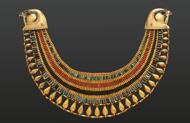 Broad collar of Senebtisi from the Middle Kingdom, Dynasty 12, late–early 13 (ca. 1850–1775 B.C.)