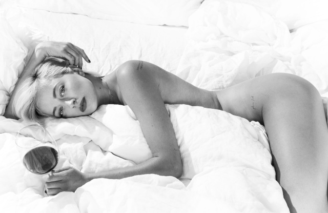 "Caroline Vreeland for CR fashion Book, where her sex column ""Going to Bed "" will be featured."