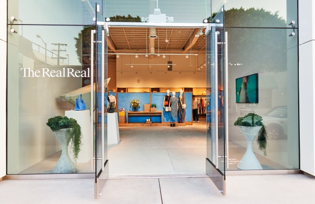 The RealReal at 8500 Melrose Ave. in West Hollywood