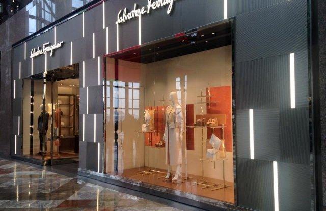 A Salvatore Ferragamo store.