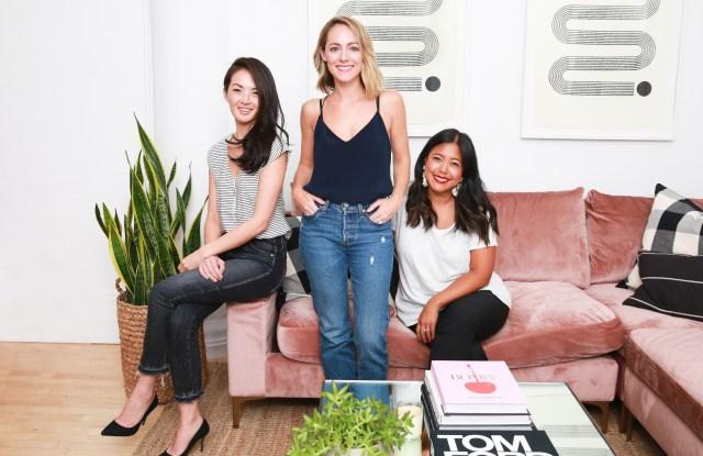 Jane Lim, Kelly Fobar Davis, Jenny Lin, co-founders of Foundation.