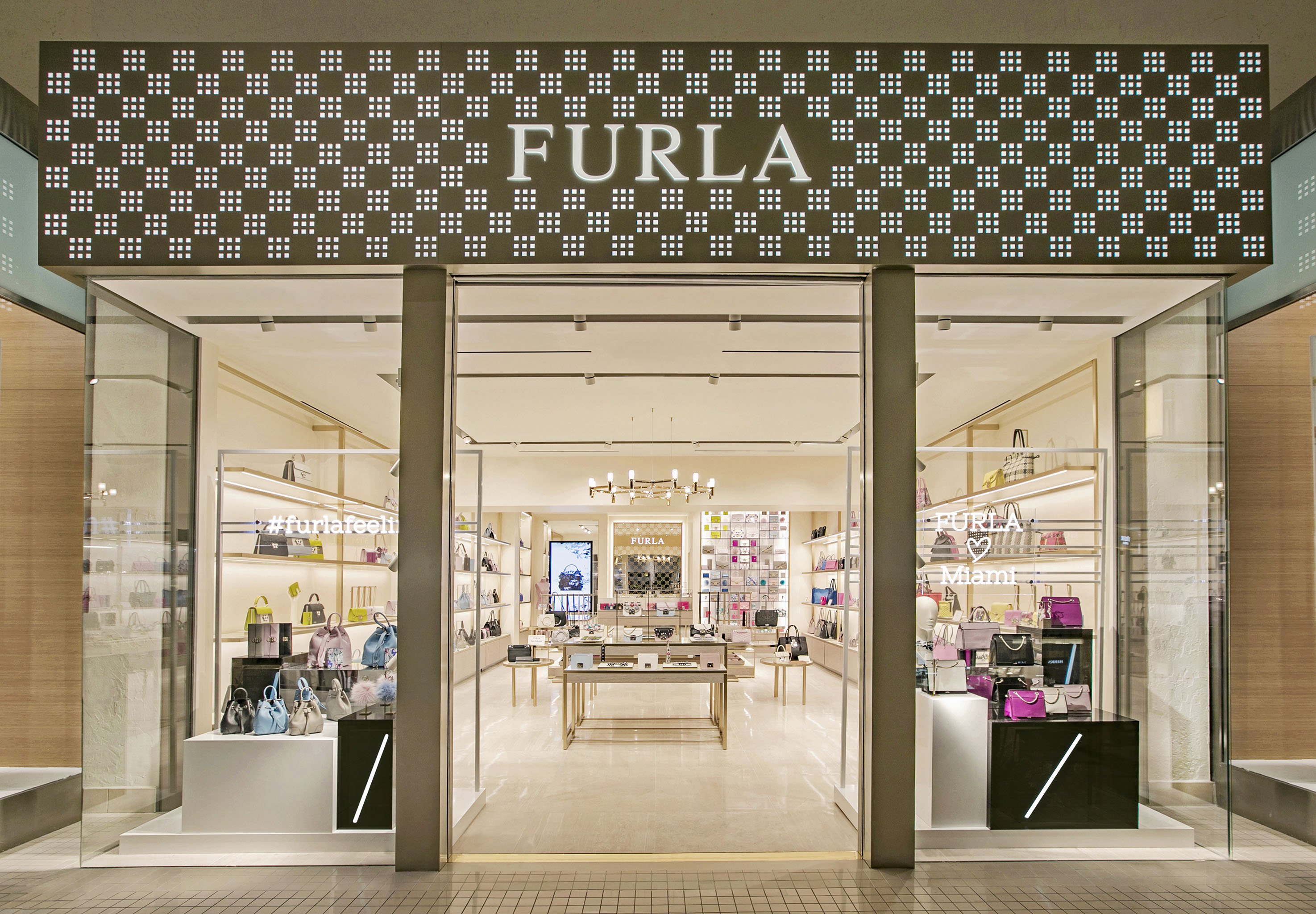 The Furla store in Florida at Avenura Mall.