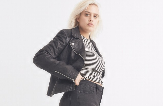 Madewell is offering extended sizing in sportswear, dresses and denim.