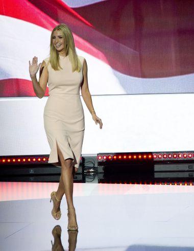 Ivanka Trump at the 2016 Republican National Convention in Cleveland, OhioRepublican National Convention, Cleveland, USA - 21 Jul 2016