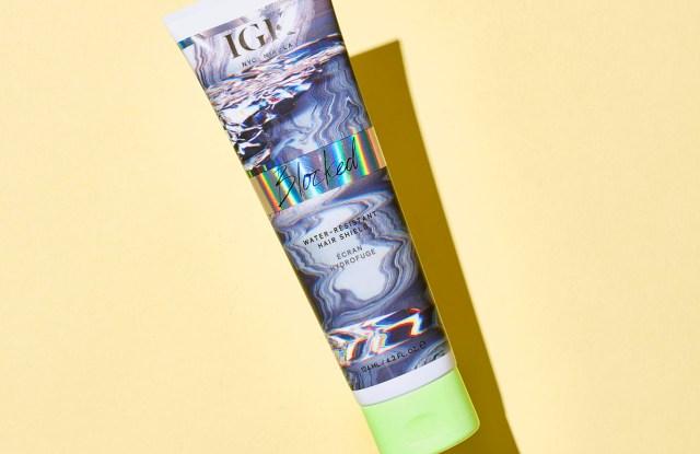 IGK's Block Water-Resistant Hair Shield.