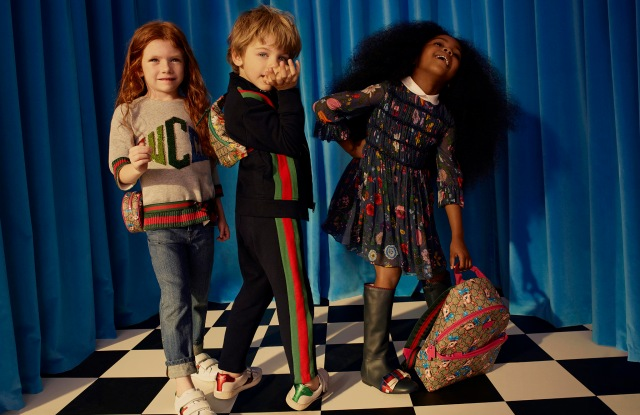 Net-a-porter launches kidswear with Gucci.