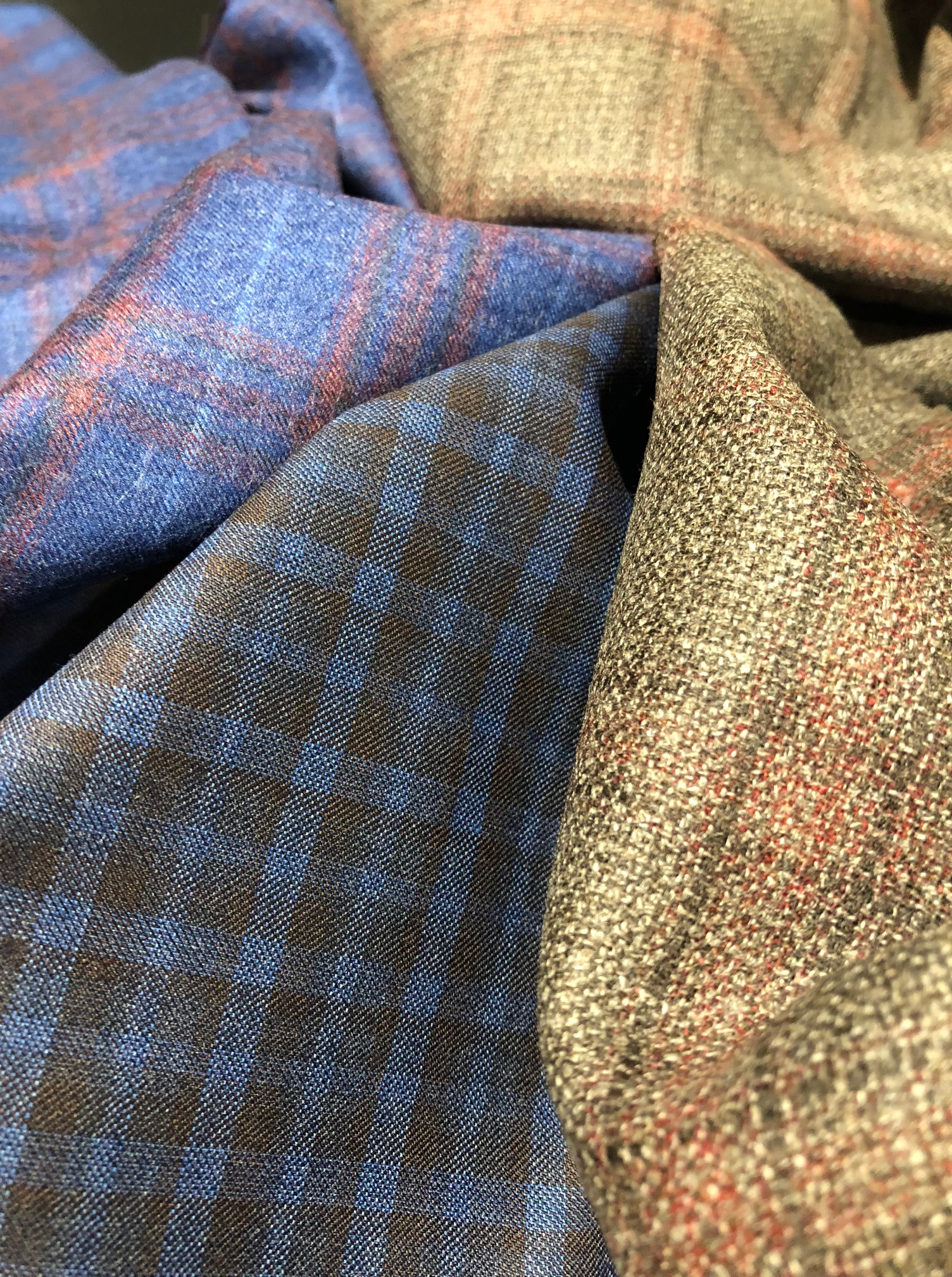 Reda 1865 Fall/Winter 2019 fabrics