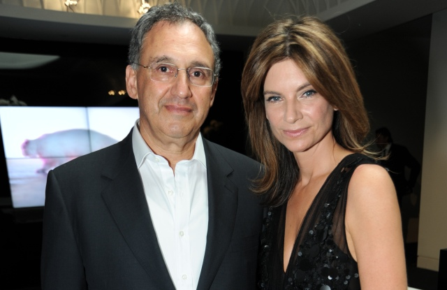 Mark Sebba with Natalie Massenet at Net-a-Porter's 10th Anniversary House-Warming Party, Westfield, London, Britain - 07 July 2010
