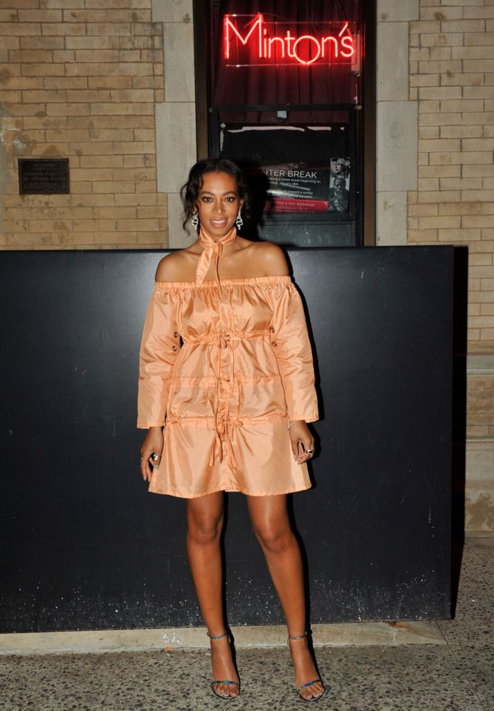 Solange KnowlesThe Contemporary Arts Center, New Orleans: New Yorkers for New Orleans, New York City - 23 Mar 2016