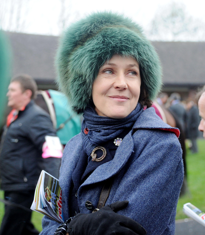 Lucy Birley at Cheltenham Festival at Cheltenham Racecourse - 16 Mar 2011