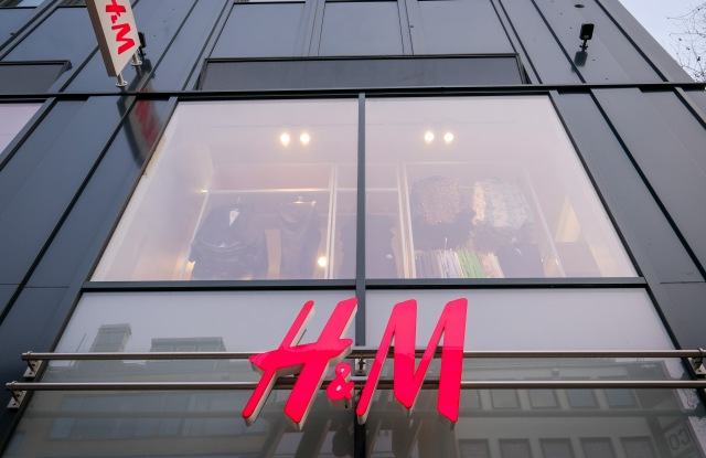 "store of Swedish clothing company ""H&M"" (Hennes & Mauritz) in the city center of Bremen, northern Germany, 15 January 2018. H&M has apologized after a widespread outcry over a promotional image that many have called racist.HM apologized after a widespread outcry over a promotional image, Bremen, Germany - 15 Jan 2018"