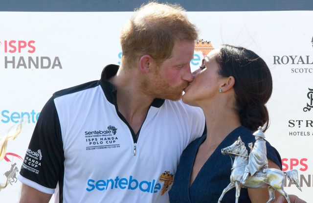 Prince Harry and Meghan Duchess of SussexSentebale ISPS Handa Polo Cup, Berkshire Polo Club, UK - 26 Jul 2018