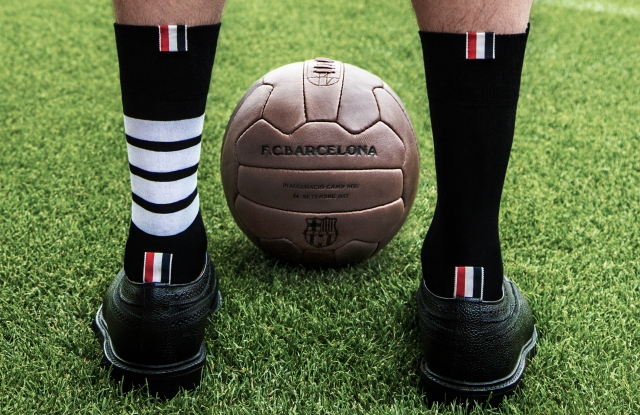 Thom Browne will be outfitting the FC Barcelona soccer club.