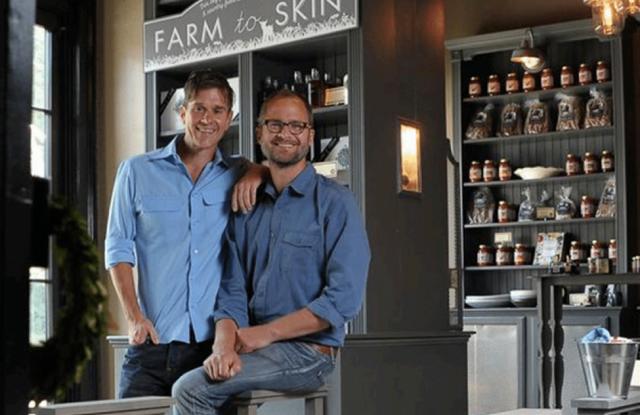 Beekman 1802 founders Dr. Brent Ridge and Josh Kilmer-Purcell.
