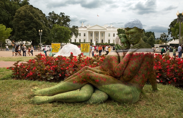 """""""White House Embrace"""" by Trina Merry"""