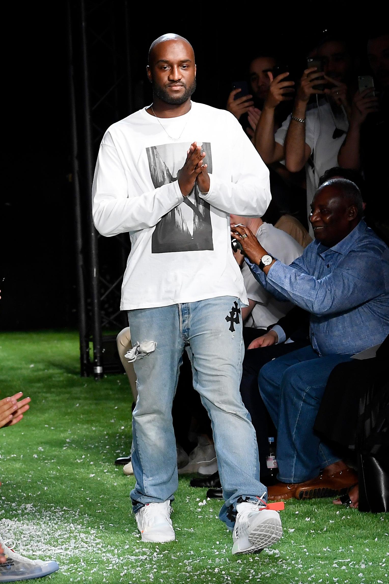Virgil Abloh on the catwalkOff-White show, Runway, Spring Summer 2019, Paris Fashion Week Men's, France - 20 Jun 2018