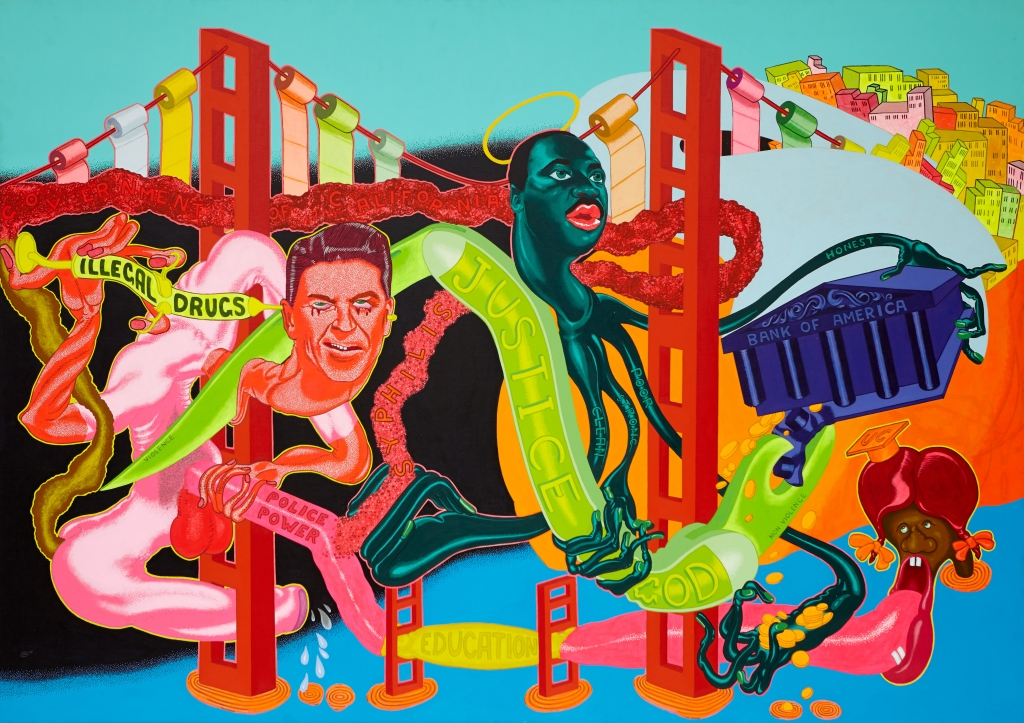 Peter Saul. Government of California, 1969.