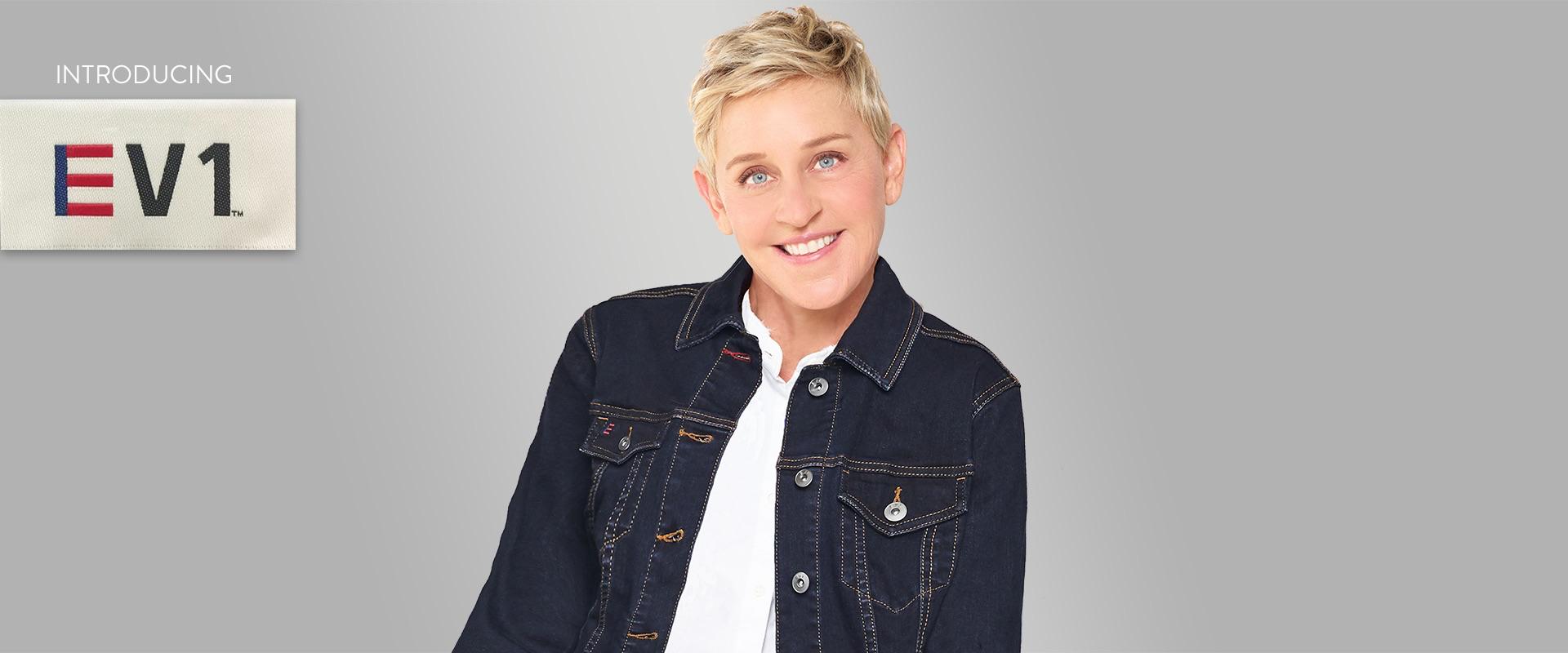 Ellen DeGeneris is launching EV1 on walmart.com.
