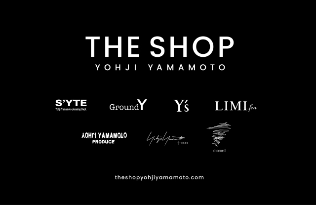 Yohji Yamamoto The Shop is an online destination which will host products for sale across the designer's multiple lines.