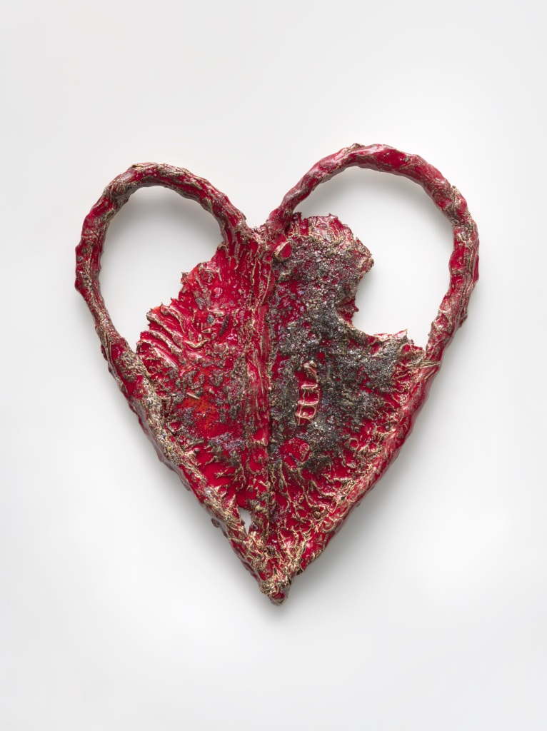 """Sterling Ruby """"Hearts + Clubs"""" at Pierre Marie Giraud"""
