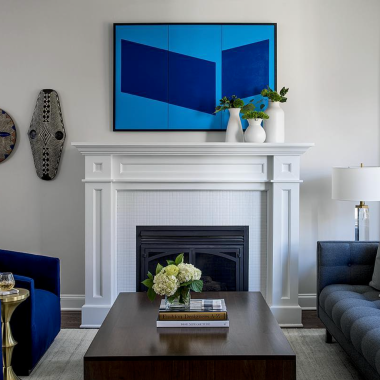 Jason Trotter artwork in Los Angeles home