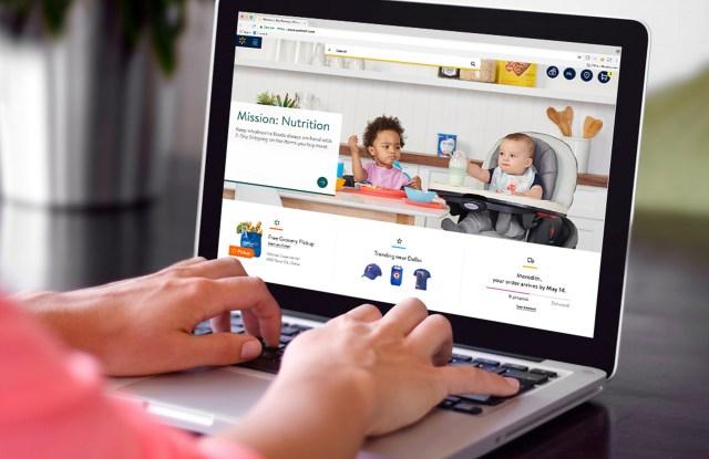 Walmart.com has launched a new nursery destination.