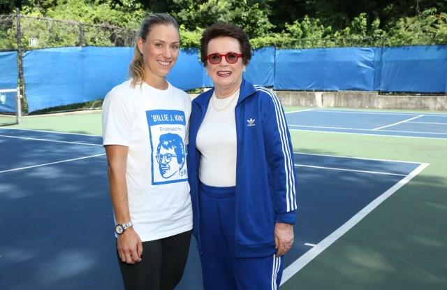 Angelique Kerber and Billie Jean King
