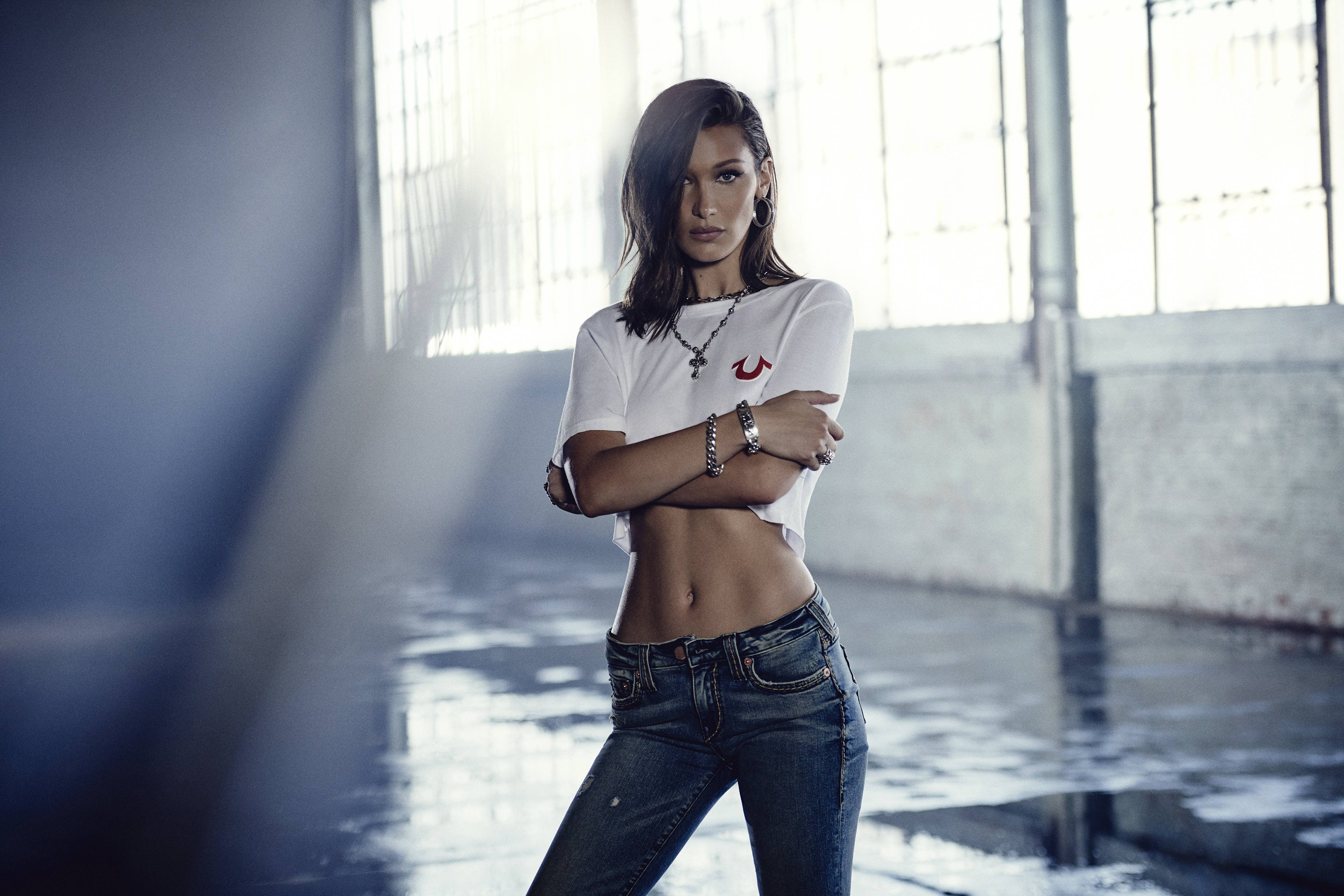 Bella Hadid in True Religion's Latest Campaign