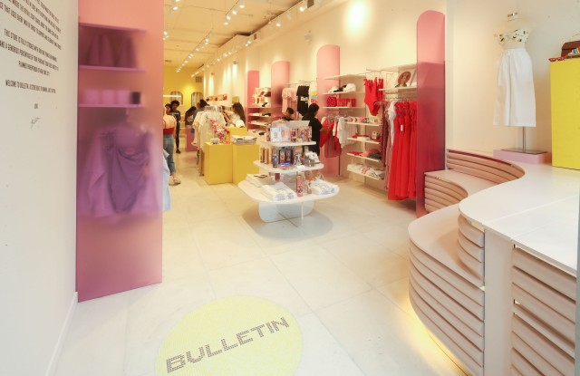 The Bulletin store.