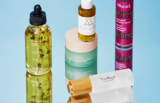 Beauty brands are capitalizing on the wellness orientation of cannabis with a crop of new products.