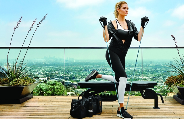 Copper Fit's newest campaign featuring Kate Upton.