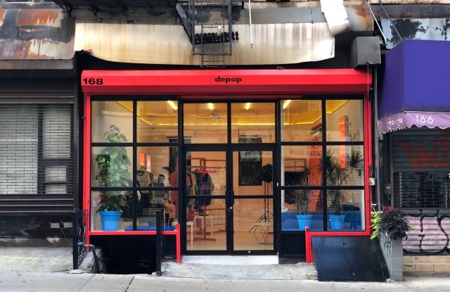 Social shopping platform Depop opened its second U.S. store in Manhattan's Chinatown.