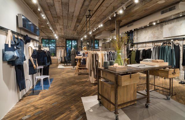 Eileen Fisher's latest retail concept, Making Space, in Brooklyn, N.Y.
