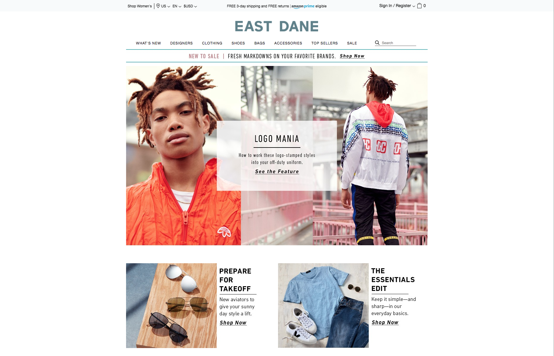 The East Dane website.